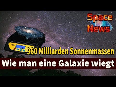 960 Milliarden Sonnenmassen: Wie man die Milchstraße wiegt [Space News]