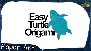 How to Make Origami Turtle | Best Craft Toy | Paper Art | HDsheet