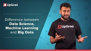 Data Science Vs Machine Learning Vs Big Data | Career Paths Explained | upGrad