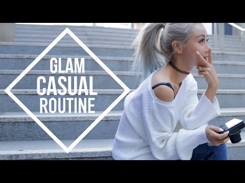Casual Glam School Routine ♥ Wengie