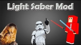 Minecraft 1.4.2 - Pasta .minecraft com Light Saber Mod (Star Wars mod) + Download