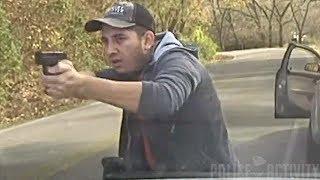Dashcam Captures Intense Police Shootout in Tontitown, Arkansas