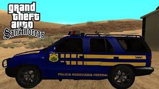 Blazer da Polícia Rodoviaria Federal - GTA Rio de Janeiro - Carros Brasileiros para San Andreas