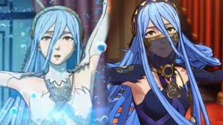 Fire Emblem Fates - Azura's Dance - Hoshido & Nohr Versions Cutscenes (English)