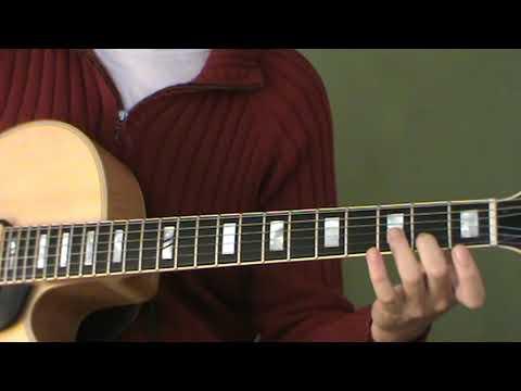Clases Guitarra Jazz - Arpegios menores con séptima menor Xm7