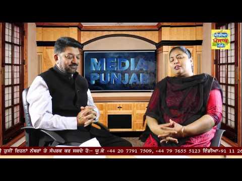 Do Gallan Kariye - ShivCharan Jaggi Kussa (Global Director ROKO CANCER) 080915 (Media Punjab TV)