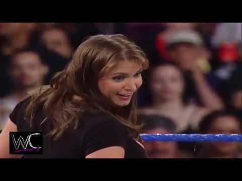 Stephanie, Mr  McMahon, Zach Gowen Kiss My Ass Club Segment