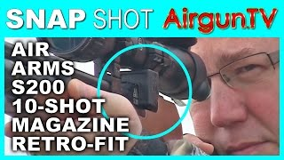 HOW TO fit a 10-shot magazine to Air Arms S200