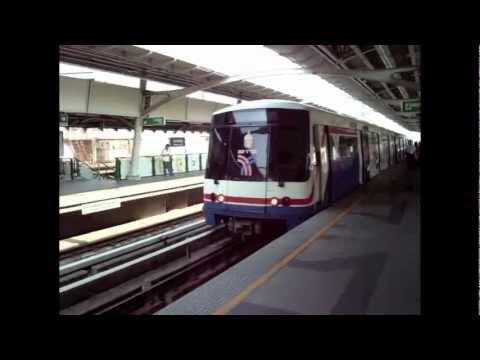 BTS Skytrain in Bangkok (2008)