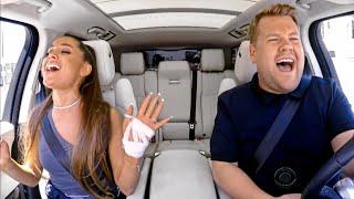 Ariana Grande Carpool Karaoke Singing Part