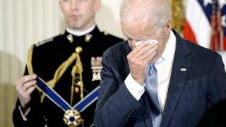 FULL: President Obama surprises Vice President Joe Biden with Presidential Medal of Freedom