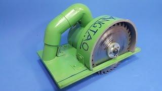 Chế Cưa Cầm Tay 12v Từ Motor 775 và Ống Nhựa PVC