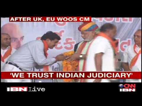 After UK, European Union woos Narendra Modi Gujarat Videos