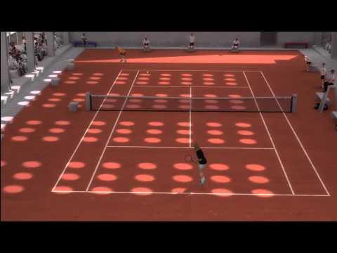 Top Spin 3 - Boris ベッカー vs. Bjorn ボルグ