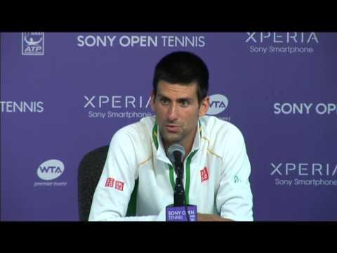 Djokovic Delighted By Miami Win Over Devvarman