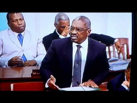 Dr. Minnis' responds to PLP's criticism about Job Training Program (Budget Debate 2012-2013)