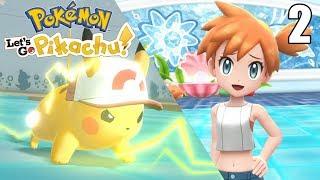 LLEGAMOS DONDE MISTY ¡SIN PIKA PIEDAD! - Pokémon Let's Go #2 En Español - Nintendo Switch