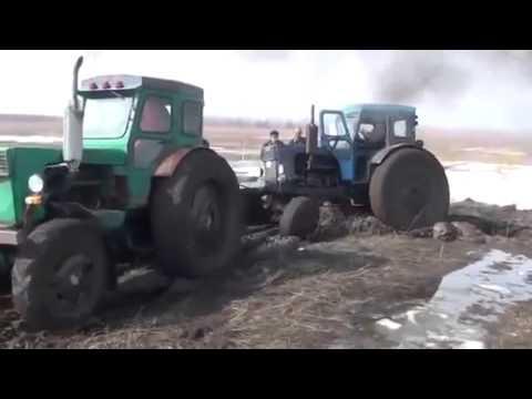 приколы на тракторах: