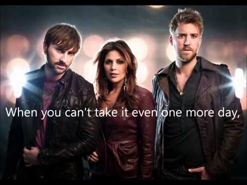 Lady Antebellum - Cant Stand The Rain
