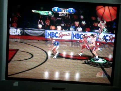 NBA Showtime NBA on NBC Gameplay-Atlanta Hawks vs. Los Angeles Clippers