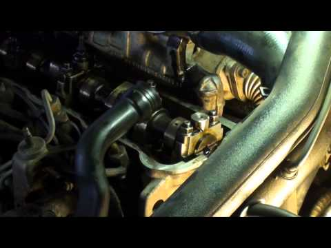 VW Jetta tdi timing belt replacement. 1.9 Turbo diesel