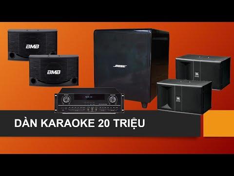 100+ dàn karaoke chuyên nghiệp nhiều cấu hình lựa chọn 1