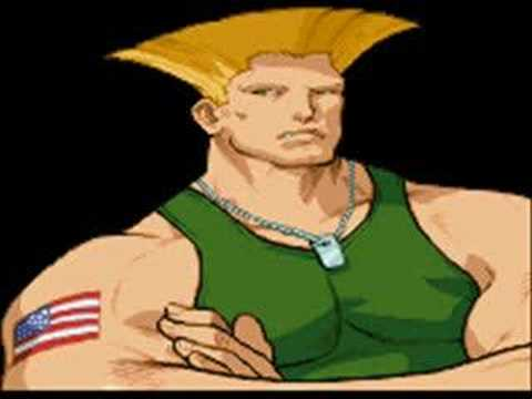 Street Fighter 2 Guile stage theme music