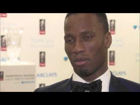 "Didier Drogba hails his ""inspiration"" Thierry Henry after winning FWA ..."