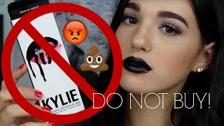 BEWARE! NEVER BUY KYLIE COSMETICS LIP KITS FROM ALIEXPRESS! WORST FAKEUP EVER | Jordan Byers