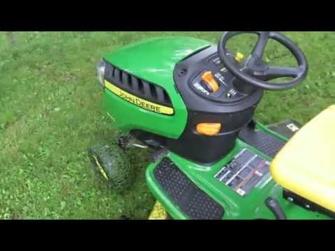 John Deere D140 Riding Mower Review (Ya Get What Ya Pay For!)