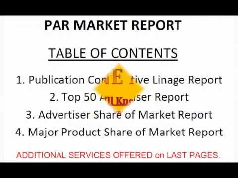 Patterson Advertising Reports Market Profile Epicurean Magazine Advertising