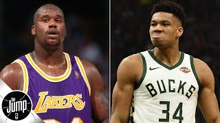 Is Shaq right about Giannis being better than he was at 24 years old? | The Jump