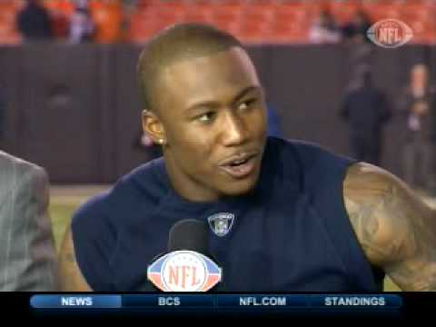 Brandon Marshall's Aborted Glove Celebration Video