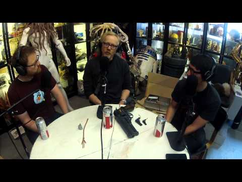 Tech Used to Shoot Mythbusters - Still Untitled: The Adam Savage Project - 4/15/2014