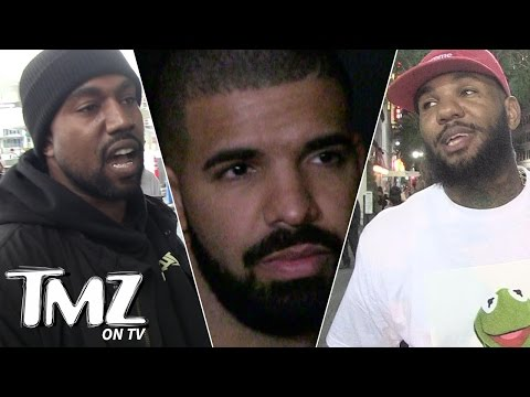 Kanye, Drake & The Game: Who Has The Biggest... (TMZ TV)