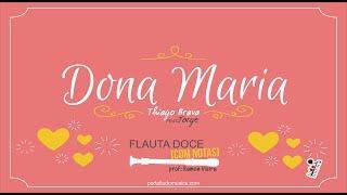 download musica Dona Maria - Thiago Brava FEAT Jorge Flauta Doce COM NOTAS
