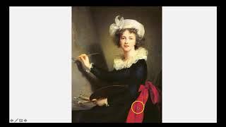 Self Portrait Vigee Le Brun