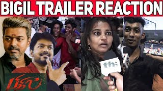 Bigil Trailer Review | Bigil Official Trailer Reaction | Bigil Trailer | Vijay | Nayanthara | Atlee