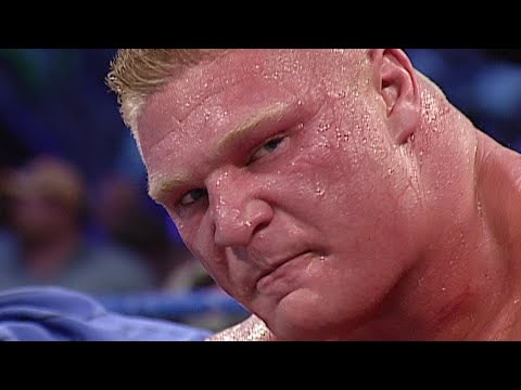 Brock Lesnar vs. Kurt Angle WWE Championship WWE Iron Man Match - SmackDown, Se