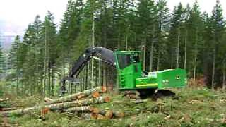 John Deere 3554 Shovel Logger - Pape Machinery Demo