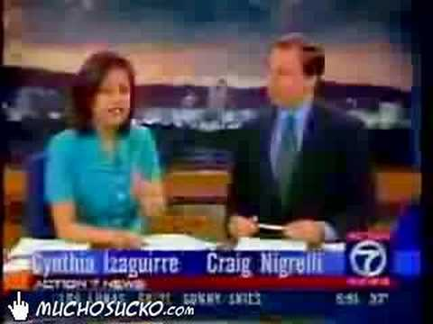 Funny News Anchor Blooper