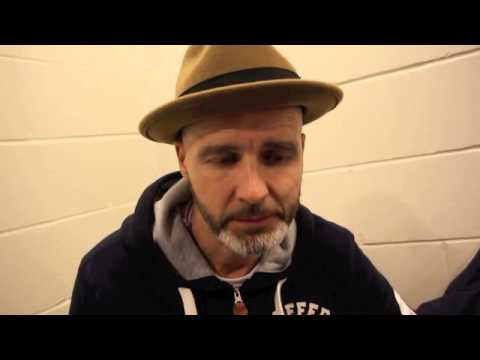 PADDY FITZPATRICK REACTS TO GEORGE GROVES 7th ROUND STOPPAGE OF DENIS DOUGLIN