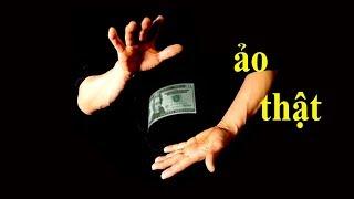 Thử thách ảo thuật tờ tiền giấy bay lơ lửng