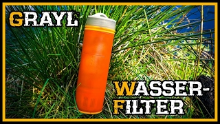 Review Grayl Wasserfilter - Outdoor Survival Bushcraft Deutschland