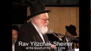 English 12 Dafyomi Siyum Hashas Jerusalem - Sunday 17th Av - 5 August 2012