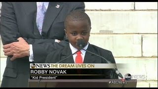 Kid President Tells March on Washington Crowd to 'Keep Dreaming'  8/28/13