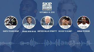 UNDISPUTED Audio Podcast (9.10.19) with Skip Bayless, Shannon Sharpe & Jenny Taft | UNDISPUTED