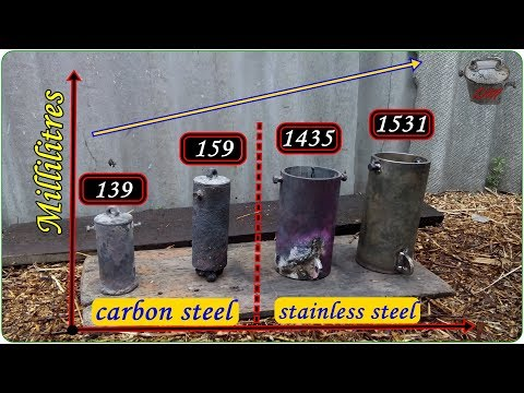 Making a Stainless Steel Crucible and my Crucibles Collection Review