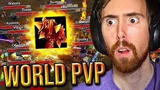 The Horde Tries To Stop Asmongold From Crafting A New LEGENDARY Sulfuras - Classic WoW