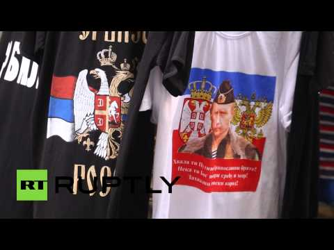 Сербию охватила «путиномания» в ожидании визита российского президента в Белград